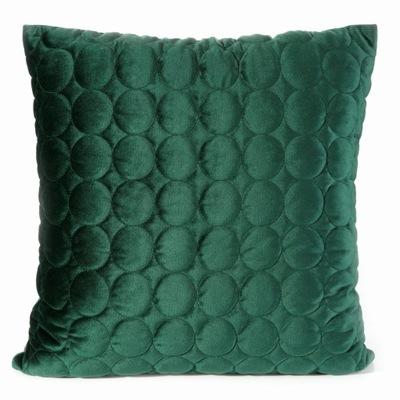 Наволочка Декоративная 45x45 Лилиан темно зеленый