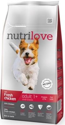 Nutrilove Premium Adult Small 8kg PROPAGÁCIA