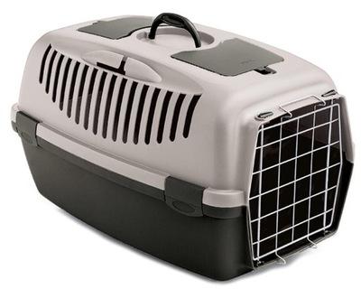 Transporter dla kota psa GULLIVER 2 metalowe drzwi