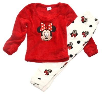 Piżama MYSZKA MINNIE 116/128, piżamka POLAROWA