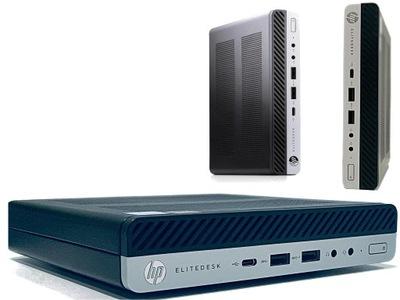 HP 800 G3 i5-6500 4/120 SSD 2DP HDMI 4K WiFi BT 10