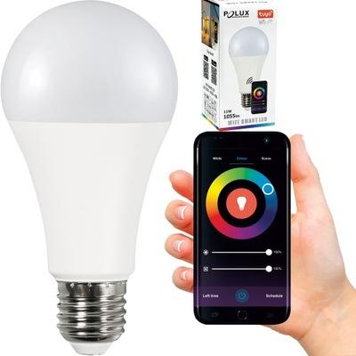 Лампа LED SMART 11W 1055lm WW-CW+RGB Wi-Fi TUYA
