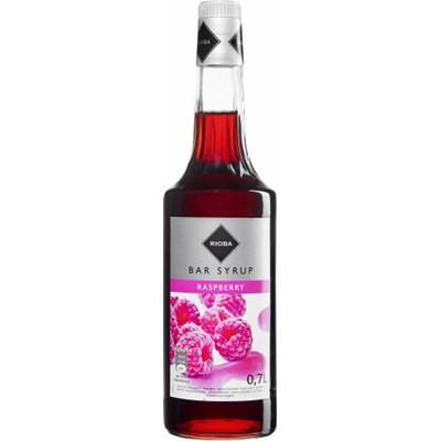 сироп барменский Rioba для напиткам Ноль .7л, МАЛИНА