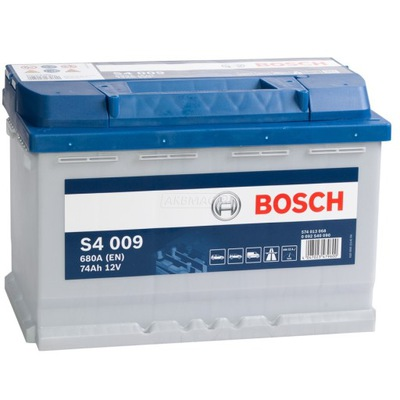 BOSCH SILVER S4 74Ah 680A