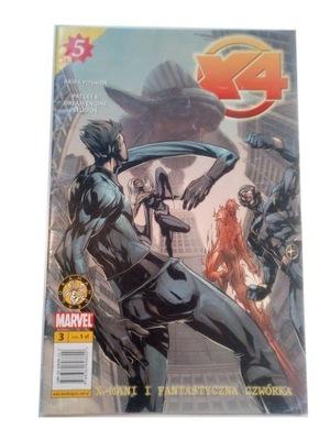X4 X-MANI i FANTASTYCZNA CZWÓRKA 2005 r.