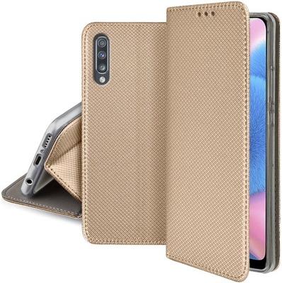 Etui SMART MAGNET + SZKŁO 9H do Samsung Galaxy A50