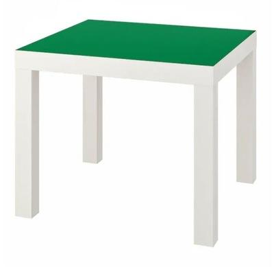 Ława ikea lack stolik kawowy ZIELONY 55x55 cm