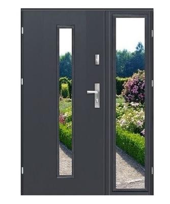 двери Внешние  ДВУСТВОРЧАТЫЕ DAX премиум