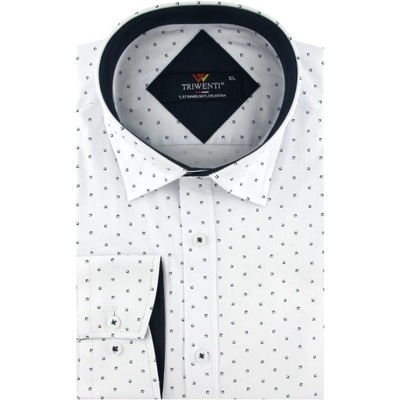 Koszula Męska Elegancka Wizytowa do garnituru B226