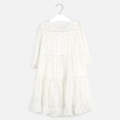 Sukienka 3/4 rękaw 6968 MAYORAL 158 cm