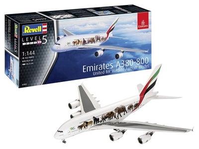 Revell МОДЕЛЬ ??? СКЛЕИВАНИЯ AIRBUS A380 EMIRATES