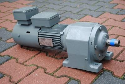 Motoreduktor 0.37kw. 56obr. z hamulcem. Firmy SEW.