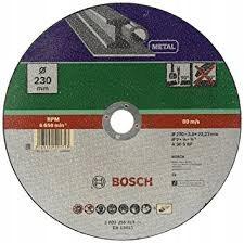 BOSCH 230x3 mm tarcza do cięcia metalu płaska