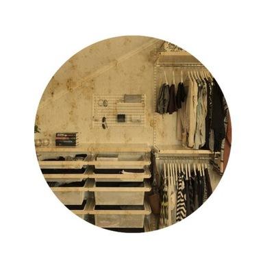 Okrúhle brúsené nástenné zrkadlo 80 cm AG1 GOLD