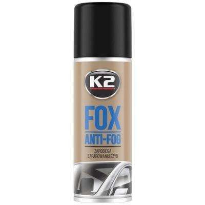 K2 FOX 150 ML ANTYPARA ZAPOBIEGA PAROWANIU SZYB