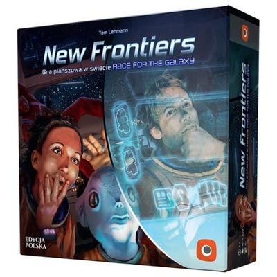 New Frontiers Gra Planszowa Race For The Galaxy 2 9397392102 Oficjalne Archiwum Allegro