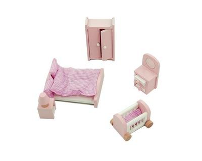 Lelin Set nábytku Internet v dome pre bábiky