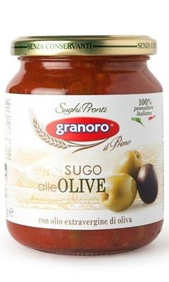 соус с оливками и оливковым маслом 370g Granoro Италии