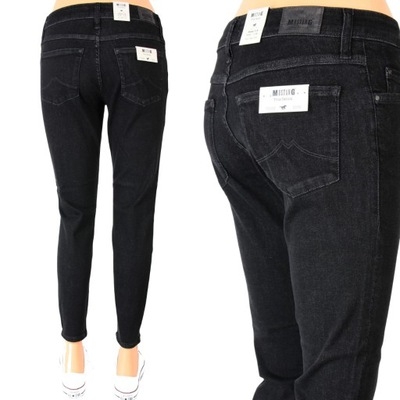 MUSTANG SISSY SLIM JEANSY HIGHT RISE 7/8 _ W29 L32