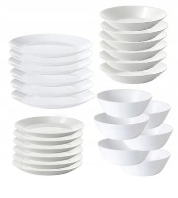 Сервис тарелки миска Икеа Oftast 6 ос/24 элементы