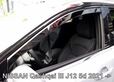 ВЕТРОВИКИ ОКНА ПЕРЕД NISSAN QASHQAI 3 J12 2021-