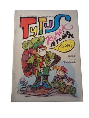 TYTUS księga I 1991 r. z autografem!