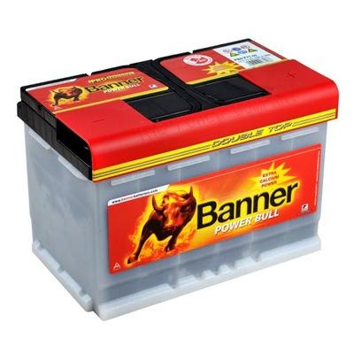 BANNER POWER BULL PRO 77AH 680A, фото