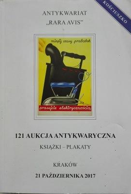 121 Аукцион antykwaryczna 2017 Antykwar. Rara Avis
