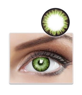 Kwartalne Kolorowe BioAir Colors Party Green -2,50