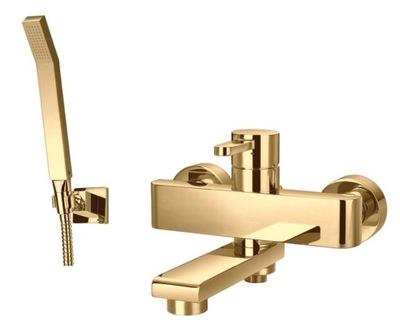 OMNIRES DARLING BATHTUB-SHOWER BATTERY GOLD