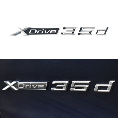 BMW XDRIVE 35d DRZWI NAPIS EMBLEMAT X1 X3 X4 X5 X6