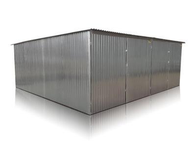 гараж железный Двойной 6x5m жесть оцинкованная
