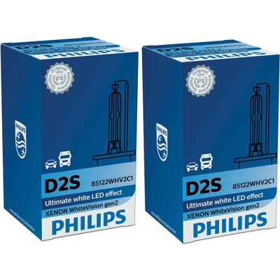 Philips D2S White Vision Xenon Żarnik 5000K