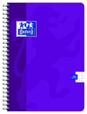 Kołozeszyt Oxford Standard A4 100k kratka fiolet