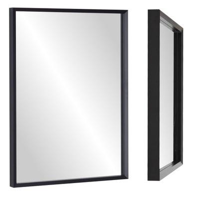 ! зеркало 80x60 узкая Рама белая , черная , цвета