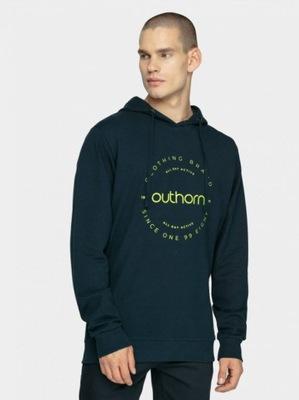 BLUZA MĘSKA BLM601A GRANAT M OUTHORN