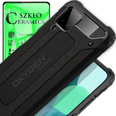 Etui OXYGEN CR do Samsung A12 + szkło CERAMICZNE