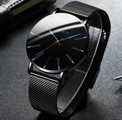 Męski zegarek 8545 GENEVA Geneva Business Watch