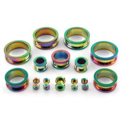 klasyczny TUNEL rainbow STALOWY 16 mm