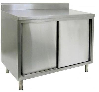 стол гастрономический рабочий укрепленный с шкафчиком