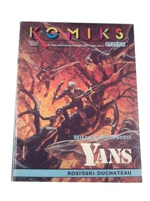 KOMIKS FANTASTYKA YANS WIĘZIEŃ WIECZNOŚCI 3/4'88