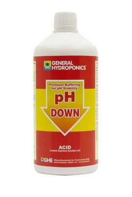 GHE pH minus down 500ml regulator poziomu ph