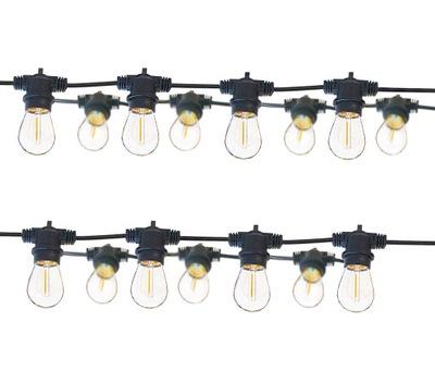 огни glamping 15м 30 ламп E27 висящий террасы