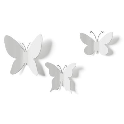 Декоративная instagram Стены бабочки белая