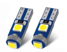 Żarówka R5 T5 3 x POWER LED W1,2W W2W MOCNE
