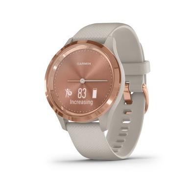 GARMIN VIVOMOVE 3S smartwatch / różowe złoto