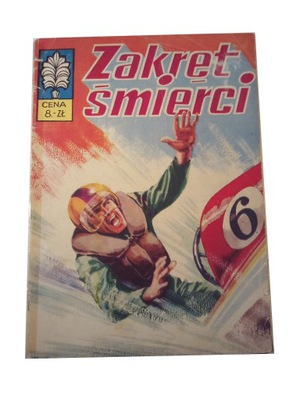 KAPITAN ŻBIK ZAKRĘT ŚMIERCI wyd. 1 1973 r.