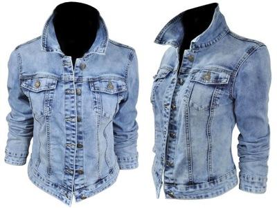 Kurtka damska wiosenna jeansowa KATANA 208 roz S