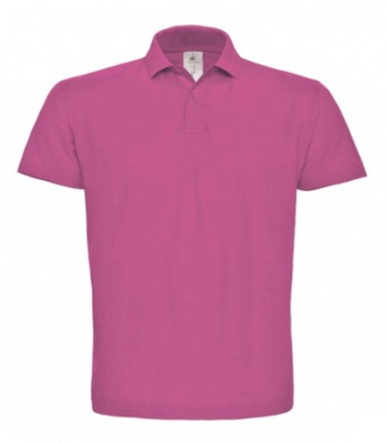 Męska Koszulka Polo B&C FUCHSIA S