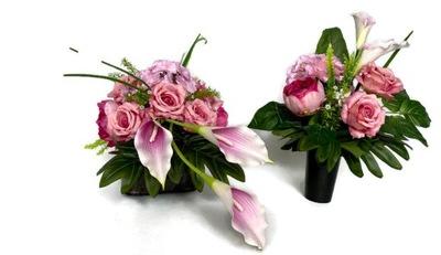 Современная композиция nagrobna/декор /цветы